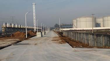 山东青州前海油库