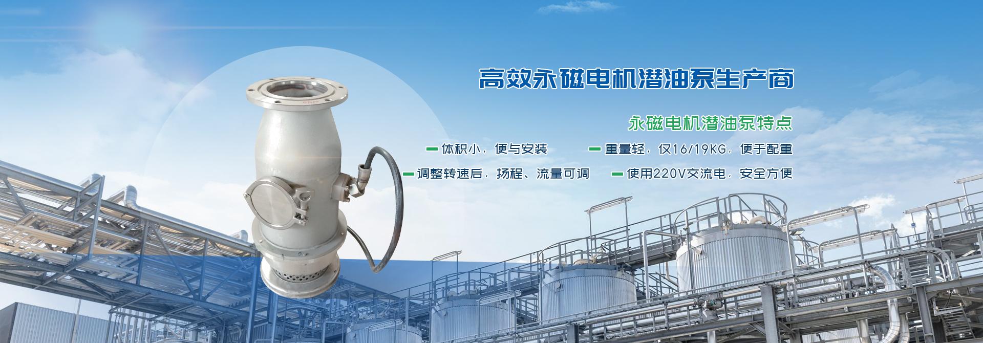 电动潜油泵